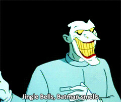 Animated GIF - Find & Share on GIPHY (messiole) Tags: bells tv batman joker animated jingle smells ifttt giphy