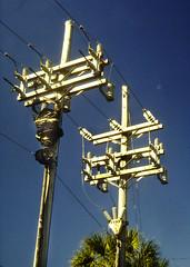 23kv Potheads (en tee gee) Tags: electric florida pothead poles 23kv