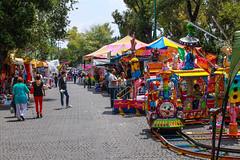 Festejando el 16 de septiembre en coyoacan 106 (L Urquiza) Tags: coyoacan mexico colors street feria ciudad city cdmx