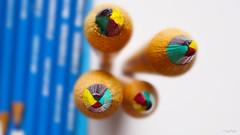 4color Pencils - Explore (CiaoMayonga) Tags: macromondays macromonday ppep fabercastell pencil fourcolorpencil
