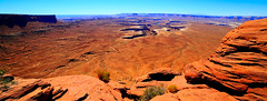Canyonlands... (Baja Juan) Tags: canyonland national park cnp utah desert landscape blue skies dry lands mountains hdr ngc baja