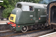 """D832 """"ONSLAUGHT"""" at Bury (colin9007) Tags: east lancashire railway diesel gala wr hydraulic maybach br swindon warship class 42 d832 onslaught"""