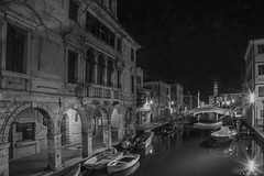 time&lights (nadiaorioliphoto) Tags: bianconero night lights notturno chioggia deltapo bw