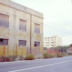 Fool (Pernin) Tags: murales graffiti ancona senigallia marche italy pentacon kodak street