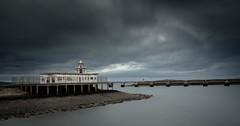 Newhaven (Matacz) Tags: scotland edinburgh canon newhaven see lighthouse abandoned 10 nd 70d