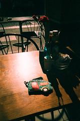 Cafe (oh it's amanda) Tags: london londonengland uk pentaxespiomini pentaxuc1 fujisensia200 xpro crossprocessed expiredfilm