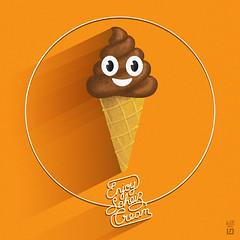 shceisscream (7115) Tags: liisroden graphics grfx art icecream summer crap sheisse ironic humor funny pun