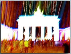 Brandenburger Tor - Brandenburg Gate (Peterspixel from Peter Althoff) Tags: berlin leuchtet 2016 festival lights light weeks night outdoor festivaloflights berlinleuchtet brandenburgertor tor brandenburggate gate pariserplatz quadriga deutschland germany berlinlightweeks2016