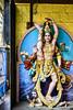 Iconography of Shiva - Calendar Kitsch - Urdhva Tandava (Anoop Negi) Tags: shiva urdhava oordhava thandava tandava thandavam bangalore karmataka india veerapillai street kamraj road hindu temple dance cosmic ananda religion anoop negi ezee123 photo photography artist sculptor fibreglass plastic