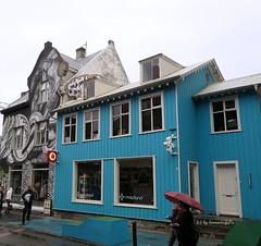 Calle Laugavegur .Reykjavik-Islandia. (lameato feliz) Tags: casa reykjavik callelaugavegur islandia