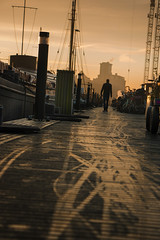Sunrise (Jeroenc71) Tags: amsterdam sunrise backlight lines ships silhouette