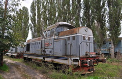 80-0588-6@ Depoul Palas (Chirila Alexandru) Tags: ldh1250 faur 23august locomotiva diesel hidraulica train trains cfr marfa caile ferate romane rail railway