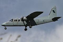 ZH004 (GH@BHD) Tags: zh004 brittennorman bn2 bn2t defender islander aac armyaircorps belfastinternationalairport aldergrove bhd egaa military aircraft aviation