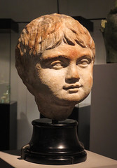 IMG_6302 (jaglazier) Tags: 1stcentury 1stcenturyad 2016 boys children cologne copyright2016jamesaglazier crafts germany imperial julioclaudian koln köln limestone museums portraits romangermanicmuseum römischgermanischesmuseum september stonesculpture stoneworking archaeology art painted royal sculpture