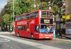 SLN 18219 - LX04FXG - OSF - BEXLEYHEATH SHOPPING CENTRE - FRI 9TH SEPT 2016 (Bexleybus) Tags: bexleyheath shopping centre kent stagecoach london adl dennis trident alx400 alexander tfl route 96 18219 lx04fxg