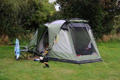 Our new tent (dark_dave25) Tags: lyme regis dorset holiday camping beach fossils