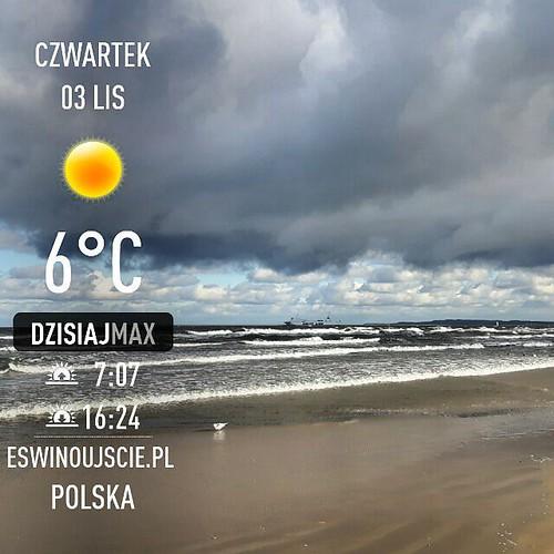 #plaża #pogoda #Swinoujscie #świnoujście #eswinoujscie