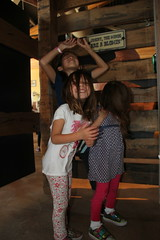 The girls in the hurricane 1 (Aggiewelshes) Tags: october 2016 lehi utah travel museumofnaturalcuriosity thanksgivingpoint waterworks jovie vivian