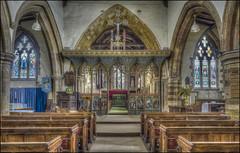 Earls Barton Church Interior 2 (Darwinsgift) Tags: earls barton all saints church northamptonshire england hdr voigtlander 20mm f35 color skopar saxon sl ii historic nikon d810