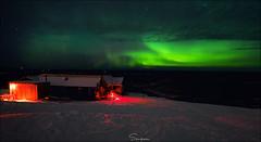 ..The Northern Ghosts.. (Ravisankar RP) Tags: steesehighway ak alaska northernlights aurora d600 nikon 1424 night winter cold cabin