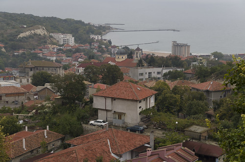 View over Balchik, 07.10.2014.