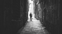 Lost (-Makar79-) Tags: 6d canonef50mmf12lusm blackandwhite streetphotography people