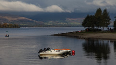 Loch Lomond Shores (cathbooton) Tags: lochlomond scotland water loch boat