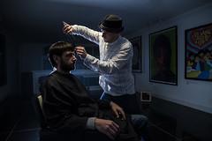 VAB LAB vs Mr.Mr. (0405 Photography) Tags: 0405photography vablab mrmr mr haircut barber backlighting