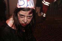 Zombie teen (cicciobaudo) Tags: zombie ragazza girl cosplay zombiewalk codigoro horror