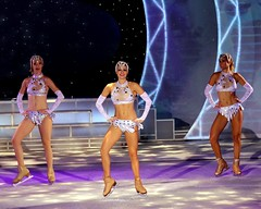 Encore !  An Ice Spectacular Show (Prayitno / Thank you for (12 millions +) view) Tags: konomark rccl rcl royal caribbean international cruise ship los liberty seas libertyoftheseas encore ice spectacular nightly show young beautiful pretty beauty sexy girl bikini night entertainment skating dancing indoor rink las vegas style outfit costume studiob theater