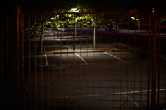 Night scenes #2 - Parking (Testigo Indirecto) Tags: parking nightshot night nightscenes emptyspace empty vacio espaciovacio bokeh thrill