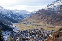 Swiss Alps (peterreading) Tags: andermatt swiss switzerland alps alp snow mountain range winter autumn day sky snowcapped hills europe eu tourist tourism