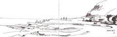 Central Coast Avoca 01 2016 (panda1.grafix) Tags: avocabeach seascape sketch centralcoast blackandwhitesketch landscape