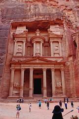 Al-Khazneh, Petra (*Siddiqi*) Tags: alkhazneh petra jordan siddiqi arab arabia al urdan nabatean ancient history art buildings treasury middleeast canoneos700d