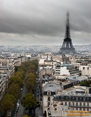 Torre Eiffel (avi_olmus) Tags: arcodeltriunfo paisaje paris torreeiffel francia pars ledefrance