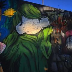 Participação no #wallofstreet em #apucarana #mural #producao #graffiti