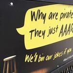 We pirates ARRRRR great  - by L.