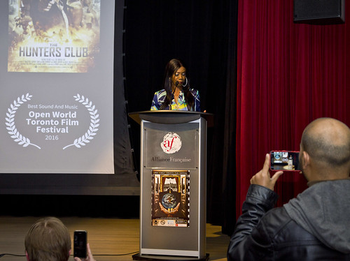 Photo by Kat - Open World Toronto Film Festival