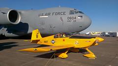 N996BB Vans RV-6A (corkspotter / Paul Daly) Tags: vans rv6a n996bb us navy ellington kefd efd light aircraft tainer usaf c17a globemaster iii 930604