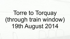 Torre to Torquay (uktrainpics) Tags: devon sea wall video by trauin dawlish warren exeter st davids newton abbot torre teignmouth torquay