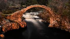 old packhorse bridge (andrewmckie) Tags: carrbridge bridges scotland scottish scottishscenery arch architecture outdoor