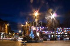 G22_9658 Hyde Market Christmas Tree (bandashing) Tags: hyde market tameside christmas tree limp night nightlife civicsquare lights colourful sylhet manchester england bangladesh bandashing aoa street socialdocumentary akhtarowaisahmed cutbacks council