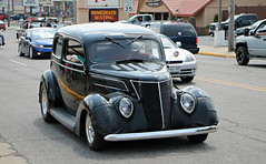 1937 Ford Model 78 (SPV Automotive) Tags: 1937 ford model 78 coupe classic car hot rod black