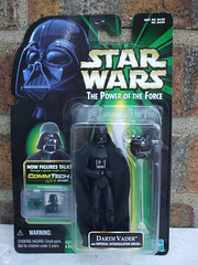 Vintage Star Wars Power Of The Force Darth Vader + Imperial Interrogation Droid Carded (beetle2001cybergreen) Tags: vintage star wars power of the force darth vader imperial interrogation droid carded
