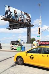 Fant4stic (aka Jon Spence) Tags: nyc newyorkcity usa newyork film america movie poster unitedstates manhattan cab taxi yellowcab advertisement advert fantasticfour fantastic4 yellowtaxi 11thavenue fant4stic