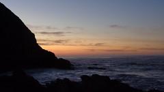 Sunrise - Otter Trail (Rckr88) Tags: ocean sea sky cloud sun mountains water rock clouds sunrise southafrica coast rocks waves cloudy rocky wave coastal coastline gardenroute tsitsikamma easterncape cloudysky ottertrail rockycoastline tsitsikammanationalpark