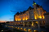 Chateau Laurier (stevenbulman44) Tags: city summer holiday building skyline architecture night canon hotel dusk ottawa filter chateau laurier lseries 1740f40l
