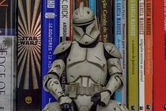 Resting (marvinlemos) Tags: nerd starwars books