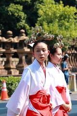 Sumiyoshi Matsuri, Festival (Ogiyoshisan) Tags: summer girl japan japanese outdoor traditional   osaka kimono