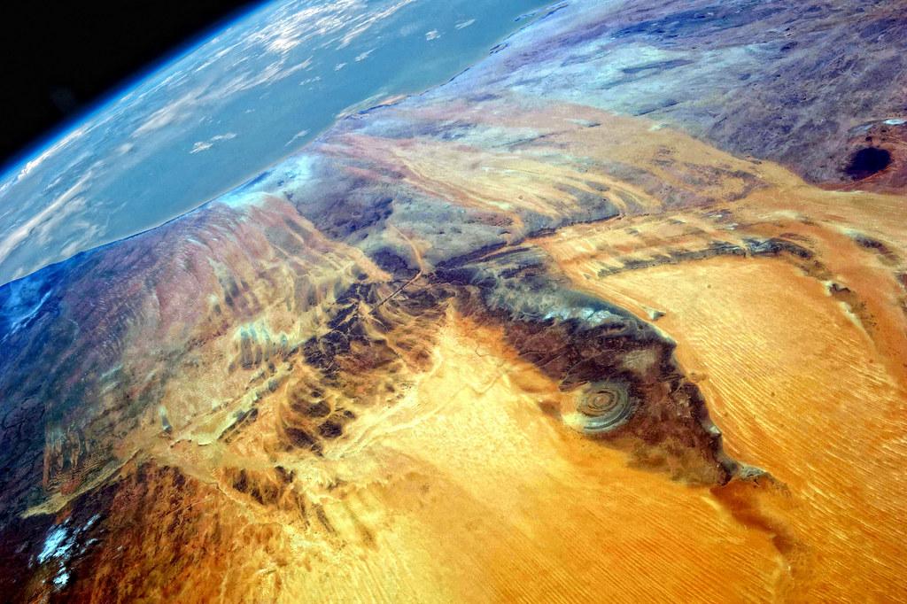 Con mắt của Sahara (Mauritania)